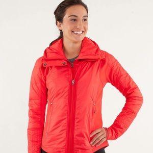 NEW Lululemon Red Bundle Up Puffer Jacket Coat 10